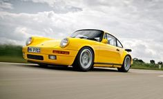 "1987 Ruf CTR ""Yellowbird"" 911 Turbo Driven [+ Video] - Photos"
