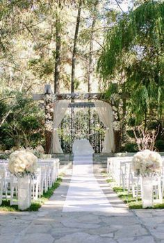 For summer wedding, this would be my ideal setup!