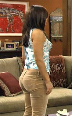 MARY: Sexy constance marie bending over