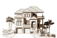 Beach house finds on pinterest by pamtsavo beach house for Beach house plans with elevator