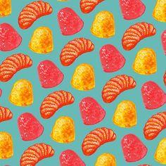 Candy Gumdrop Pattern
