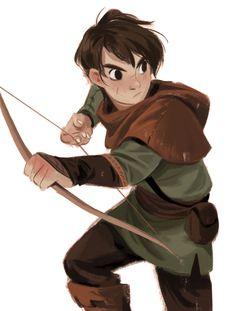"""Young Robin Hood"" by Mingjue Helen Chen"