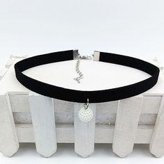 YAKAMOZ Mode Noir Corde Résine Pendentif Choker Colliers Bijoux Pour Les Femmes 2016 Date Déclaration Colliers Collares Hot