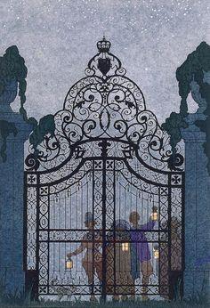 "Illustration For ""fetes Galantes""      George Barbier"