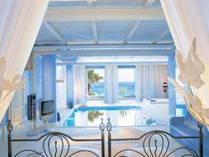 Mykonos Blu Resort, Suite with private indoor pool