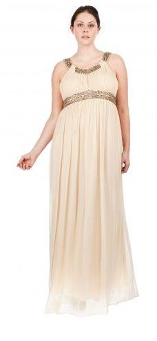 Une sublime robe grande taille en mousseline et perles, soldée à 85€ : parfait pour jouer les déesses cet été. Cliquez sur la photo pour en voir davantage sur ma-grande-taille.com