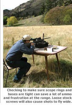 Zeroing a Riflescope