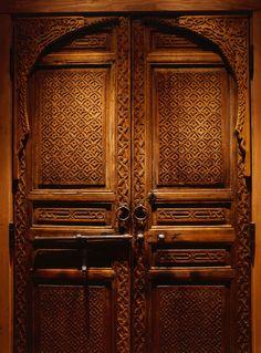 Moroccan doors for my Spanish hacienda