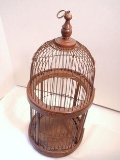 bird cage in Sunroom