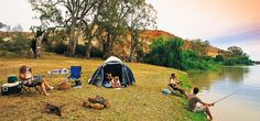 Camping and fishing by the lake with mates - is there anything better?