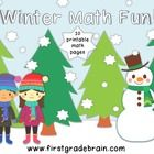 FREE! Add a little winter fun to your math practice. This freebie contains 10 printable math activities that will provide fun, seasonal math practice for...