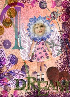 I Dream created by Marlie with Yes, I Play with Dolls by 2 Curly Headed Monsters Designs available @ Mischief Circus. Thanks for looking!