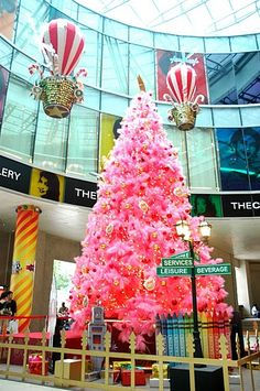Whispered Whimsy Vintage: There will be a PINK CHRISTMAS TREE.