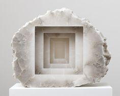 Find the latest shows, biography, and artworks for sale by Anish Kapoor. Turner Prize winner Anish Kapoor creates elegant sculptures that combine simple mate… Anish Kapoor, Art Sculpture, Stone Sculpture, Contemporary Sculpture, Contemporary Art, Arte Popular, Paperclay, Land Art, Installation Art