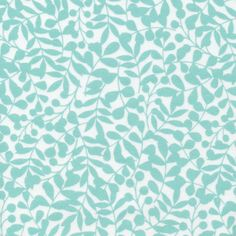 138203 Branch | Turquoise Flannel from First Light by Eloise Renouf for Cloud9 Fabrics