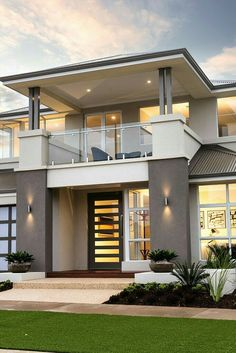 Modern House Design New Picture Modern House Design - Interior Home Design Ideas Modern Minimalist House, Modern House Design, Minimalist Design, Home Interior Design, Exterior Design, Interior Modern, Exterior Colors, Luxury Decor, Luxury Food