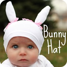 How to make homemade Easter bonnets with free patterns perfect to wear on Easter Sunday.  These Easter bonnets include  a fascinator, floral headbands, floral hats, feather hats, a reversible bonnet, bunny hat, hankie baby bonnet and a pixie baby bonnet.  These hats and bonnets are so adorable that I bet your little ones won't want to take them off!
