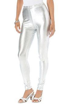 Denim 24/7 Women's Plus Size Metallic Leggings (Silver Metallic,2X) Denim 24/7 http://www.amazon.com/dp/B006R89RAS/ref=cm_sw_r_pi_dp_77xlub0YV1RY1