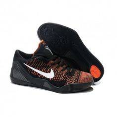 new arrival 56eb7 47b24 The cheap Authentic Kobe 9 Elite Low Black-Orange White Shoes factory store  are awesome pair of shoes but it seems the super high top design isn t for  ...