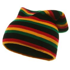 ab0f9ad4854 Double layered Rasta long Hat Tam Reggae Marley Jamaica ( 3 days shipping )   fashion