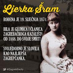 Ljubavna priča Ljerke pl. Šram i Milivoja Dežmana jedna je od najljepših zagrebačkih ljubavnih priča svih vremena. #ZagrebFacts #Zagreb #ZG #Agram #Brestovac #LjerkaSram