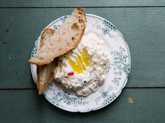 A spicy, creamy Greek dip to add to your meze spread.