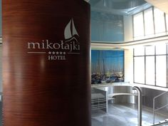 In the #pool area is already last details, including our logo welcoming future guests.