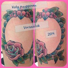 https://www.facebook.com/VorssaInk, http://tattoosbykata.blogspot.fi, #tattoo #tatuointi #katapuupponen #vorssaink #forssa #finland #traditionaltattoo #suomi #oldschool #frame