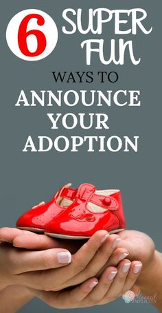 How make an Adoption Announcement – Blessed Simplicity Now that you have decided to adopt a baby, it's time to make the adoption announcement. Use these six creative ways to announce your private adoption or adoption from foster care. Home Study Adoption, Adoption Books, Foster Care Adoption, Foster To Adopt, Private Adoption, Foster Care System, International Adoption, Foster Parenting