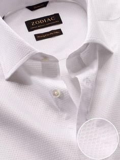 471c50535f46 Matera Classic Fit White Shirt White Shirts, Zodiac, Retail, 12 Zodiac  Signs,