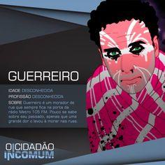 Mendigo Ninja Style. www.ocidadaoincomum.com.br