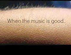 #Shivers #Goosebumps #music