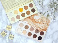 Zoeva Blanc Fusion palette vs Naturally Yours palette Makeup Products, Makeup Tips, Beauty Products, Zoeva Blanc Fusion, Eyeshadow Pallettes, Cocoa Blend, Swatch, Caramel, Make Up