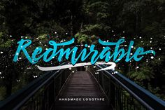 Introducing Redmirable Script Font! New Signature Font, a handmade font, new fresh & modern typeface with a calligraphy style. Redmirable designed...