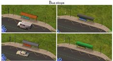 Mod The Sims - Even more buses and bus stops for your neighbourhood