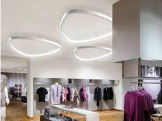 Luminária de teto LED de alumínio SOFT DELTA | Luminária de teto - Sattler
