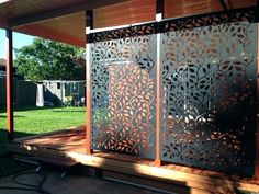balcony privacy screen Awesome DIY Outdoor Privacy Screen Ideas with Picture - # Outdoor Privacy Screen Panels, Retractable Patio Screens, Balcony Privacy Screen, Screen Plants, Privacy Screens, Metal Garden Screens, Privacy Landscaping, Patio Privacy, Landscaping Ideas