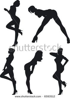 Illustration of sexy woman silhouettes Female Modeling Poses, Female Poses, Female Art, Boudoir Poses, Boudoir Photography, Photographie Portrait Inspiration, Poses References, Sexy Drawings, Girl Silhouette