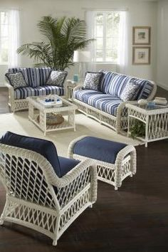 Victoria by Braxton Culler Outdoor Furniture Sets, Furniture, Sunroom Furniture, Coastal Decor, Luxury Furniture, Furniture Accessories, Outdoor Furniture, Home Decor, Woven Furniture