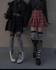 Edgy Outfits, Grunge Outfits, Cute Casual Outfits, Pretty Outfits, Aesthetic Grunge Outfit, Aesthetic Clothes, Alternative Outfits, Alternative Fashion, Egirl Fashion
