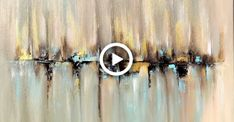 Skyline abstract painting with Acrylic abstract art acrylpainting painting # Abstract Painting Easy, Simple Oil Painting, Abstract Painting Techniques, Skyline Painting, Simple Acrylic Paintings, Acrylic Painting Canvas, Abstract Canvas, Diy Painting, Canvas Canvas