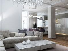 soft modern apartment design