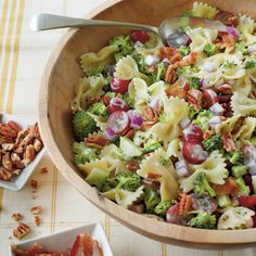 Broccoli, Grape, and Pasta Salad Recipe