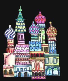 alphabetty monster: St Basil Cathedral Printable Project