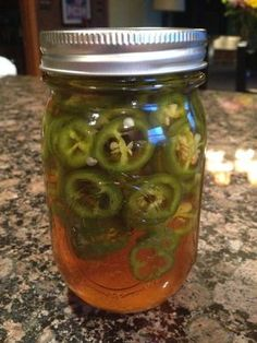 Beer Pickled Jalapenos - Ready to hop up any dish you wish