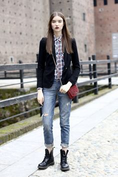 Here's How to Get That Model Off Duty Street Style Look You Crave - theFashionSpot