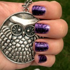 Do You Love Purple? These Nails Are For You!
