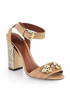 Dolce & Gabanna's sexy and sweet summer sandal! » Fashion Tips and ...