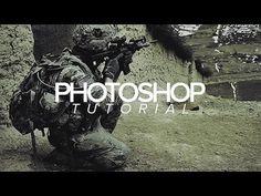 Video: Tutorial   Photoshop   'War' Photo Effect