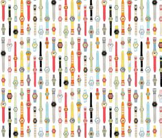 Swiss Time fabric by pennycandy on Spoonflower - custom fabric